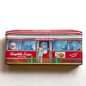 Campbell's soup diner tin box
